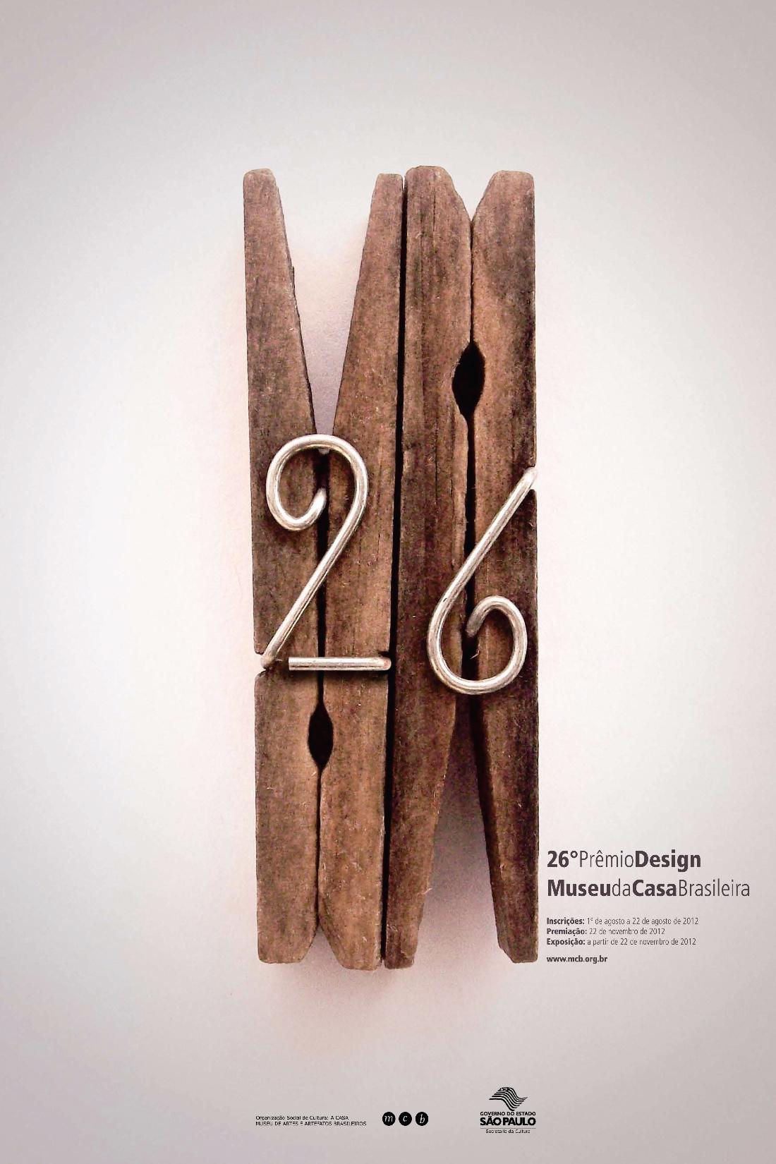 26º PRÊMIO DESIGN MUSEU DA CASA BRASILEIRA